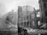 Fire Fighting During World War 2 Battle of Britain Photo