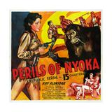Perils of Nyoka Plakát