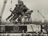 Placement the Statue Depicting Marines Raising the American Flag on Mount Suribachi Photo