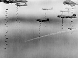 B-17 Flying Fortresses of U.S. 8th Air Force Bombing Dresden in April 17, 1945 Photo