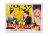 Libeled Lady Posters