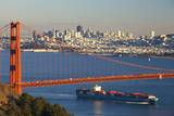 The Golden Gate Bridge and Sand Francisco Skyline Photographic Print by  Miles
