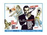 Agent 007 jages Kunst