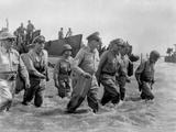 Gen. Douglas Macarthur Wades Ashore During Initial Landings at Leyte Island Photo