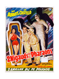 Abbott and Costello Meet the Mummy (aka 2 Nigauds Chet Les Pharaons) Posters