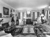 Living Room of J. Edgar Hoover's Living Room at the 4936 Thirtieth Place Photo