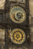 Astronomical Clock, Old Town Hall, Prague, Czech Republic, Europe Photographic Print by  Angelo