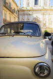 Old Fiat in the Baroque City of Lecce, Puglia, Italy, Europe Photographic Print by  Martin