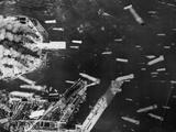 U.S. 21st Bomber Command Dropped Incendiary Bombs on Osaka Photo