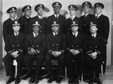African Americans Appointed to the Rank of Ensign and One to Warrant Officer in the Us Navy Fotografía