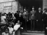 General Charles Degaulle in Cherbourg to Establish a Government for Liberated France Photo