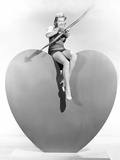 Lana Turner Aims Valentine Greetings Photo