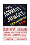 The Asphalt Jungle Print