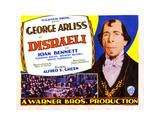 Disraeli Posters