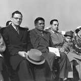 Surviving Iwo Jima Flag Raisers at Dedication of U.S. Marine Corps War Memorial Photo