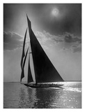 The Vanitie During the America's Cup, CA. 1900-1910 Plakat af Edwin Levick