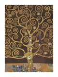 Tree of Life (Brown Variation) V Prints by Gustav Klimt