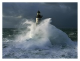 Phare d'Ar-Men I Print by Jean Guichard