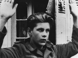 Young German Pow Captured in France in 1944 During World War 2 Fotografía