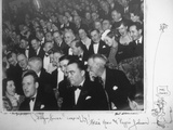 J.Edgar Hoover and Clyde Tolson in the Audience at 'Helzapoppin' Photo