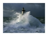 Phare d'Ar-Men I Prints by Jean Guichard