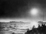 Allied Convoy Crossing the North Atlantic in 1942 During World War 2 Photo