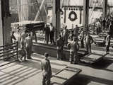 World War 2 Dead from European War Cemeteries Arriving at Brooklyn Army Base Photo