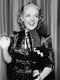 Alice Faye at the Cbs Microphone Posters