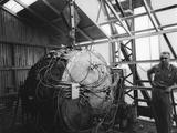Norris Edwin Bradbury with the 'Gadget' Photo