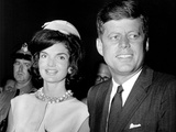Jaqueline Kennedy, President John F. Kennedy, Ca. 1962 Photo