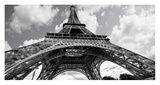 The Eiffel Tower in Spring Prints by Elias Jonette