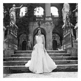 Lady in Formal Evening Dress Plakater af Genevieve Naylor