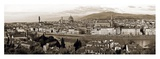 Panoramic View Of Florence Poster by Vadim Ratsenskiy