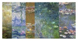 Waterlilies IV Art by Monet Deco