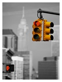 Crossroads, New York Print by Vadim Ratsenskiy