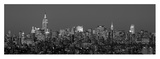Manhattan Skyline II Print by Richard Berenholtz