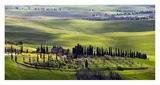 Country Houses in Tuscany Posters by Vadim Ratsenskiy