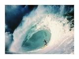 Surfer on a Wave Prints by Rick Doyle