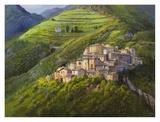 Villaggio sui monti Prints by Adriano Galasso