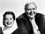 Elsa Lanchester, Charles Laughton, Ca. 1950S Photo