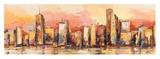 Metropolis I Poster by Luigi Florio