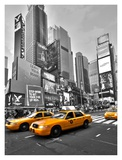 Times Square Traffic Prints by Vadim Ratsenskiy