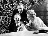 Lionel Barrymore, (Holding His Nephew, John Barrymore, Jr., aka John Drew Barrymore) Photo