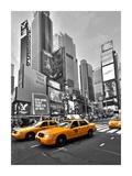 Times Square Traffic Pôsters por Vadim Ratsenskiy