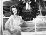Loretta Young in Universal Studio Portrait Greets the Holiday Season Photo