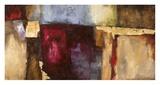 Rosso fiorentino Posters by Leonardo Bacci
