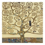 The Tree of Life II Poster av Gustav Klimt