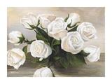 Vaso di Rose Art by Silvia Mei