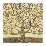 The Tree of Life II Plakater af Gustav Klimt