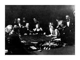 La Roulette a L'Interieur D'Un Casino a Monte Carlo, 1934 Posters by Charles Delius